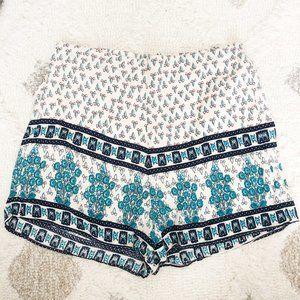 Vestique High Rise Boho Printed Shorts